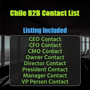 Chile B2B Contact List