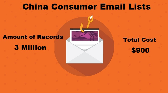 China Consumer Email Lists