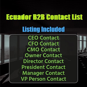 Ecuador B2B Contact List