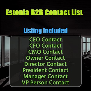 Estonia B2B List
