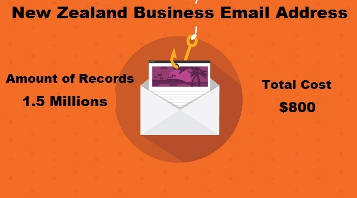 New Zealand Business Email Address