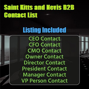 Saint Kitts and Nevis B2B Contact List