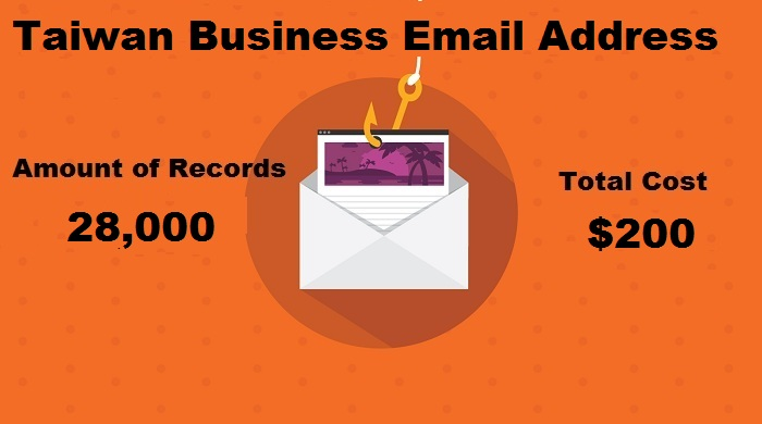 Taiwan Business Email Address